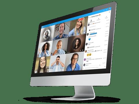 videokonferenz-bildschirm